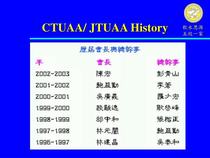 CTUAA/ JTUAA History