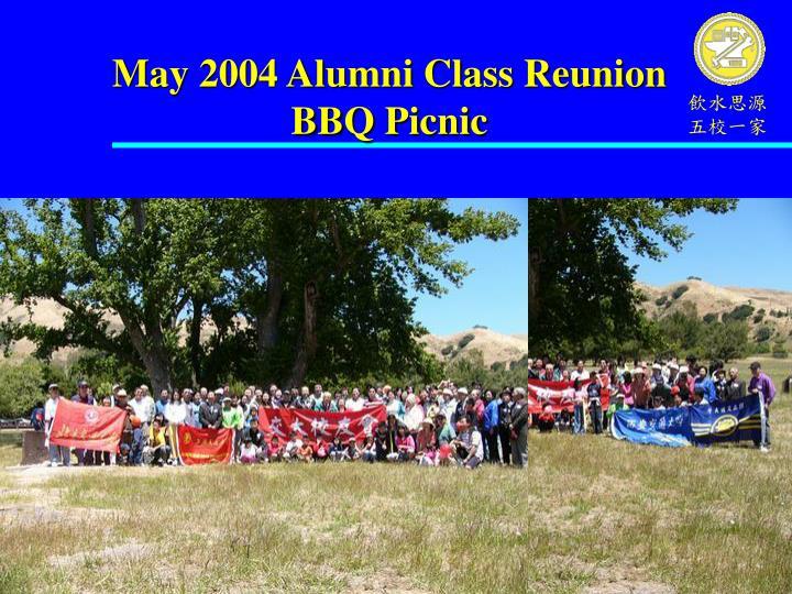 May 2004 Alumni Class Reunion