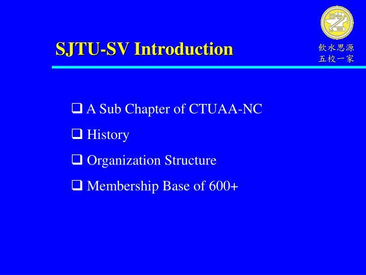 SJTU-SV Introduction