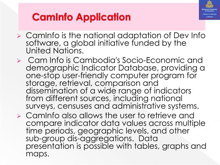CamInfo