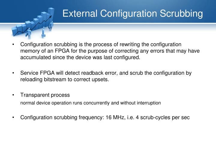 External Configuration Scrubbing
