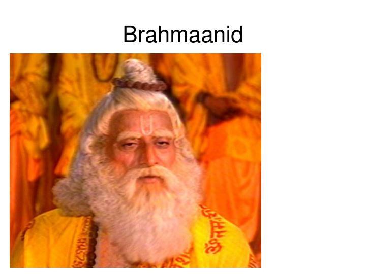 Brahmaanid
