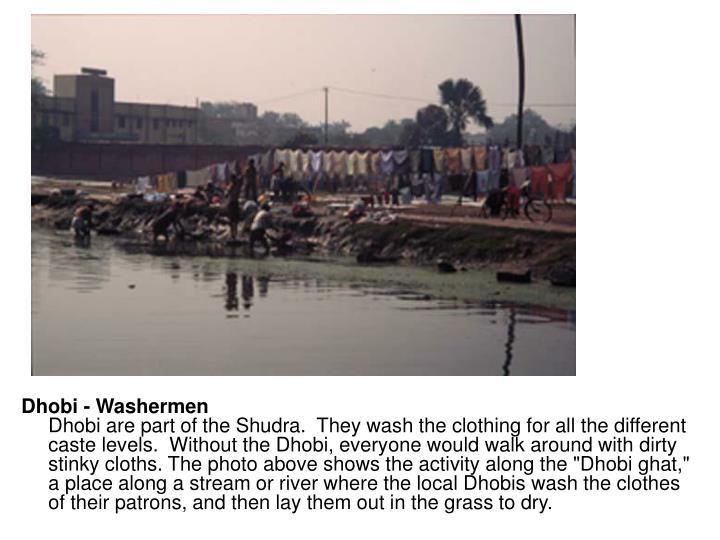 Dhobi - Washermen
