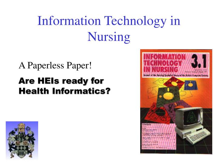 Information Technology in Nursing