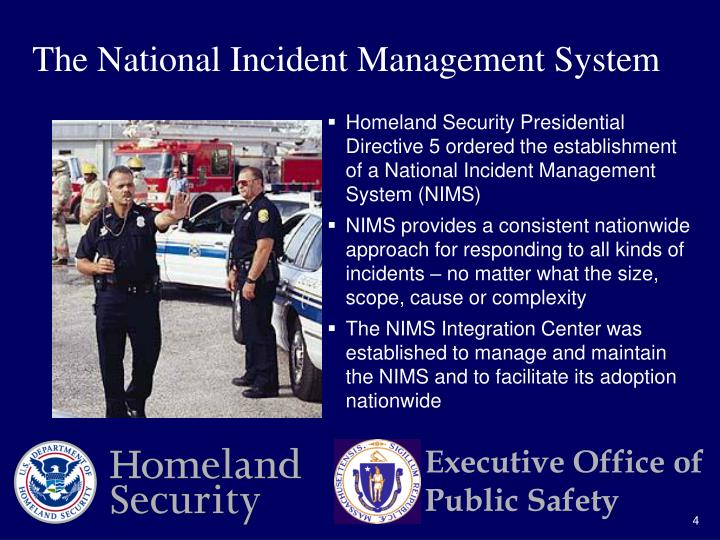 The National Incident Management System