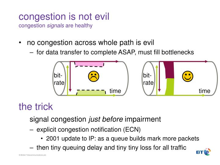 congestion is not evil