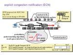 explicit congestion notification ecn