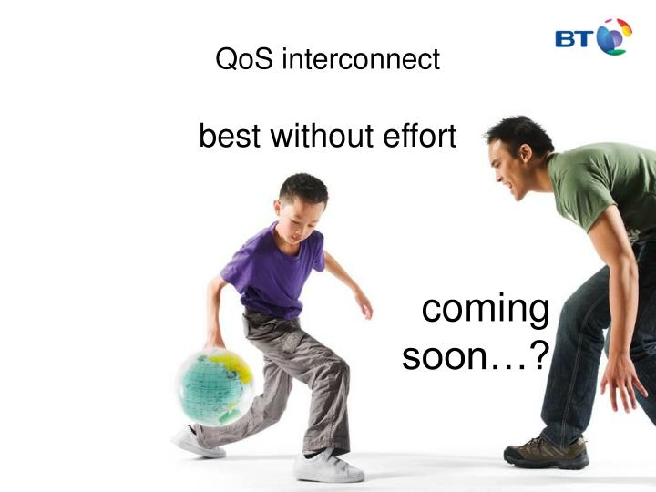 QoS interconnect