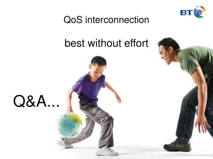 QoS interconnection