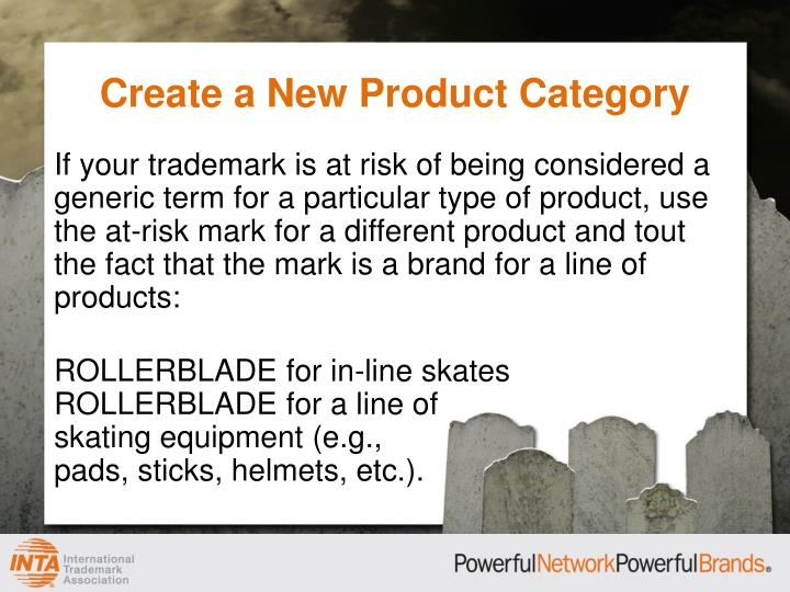 Create a New Product Category