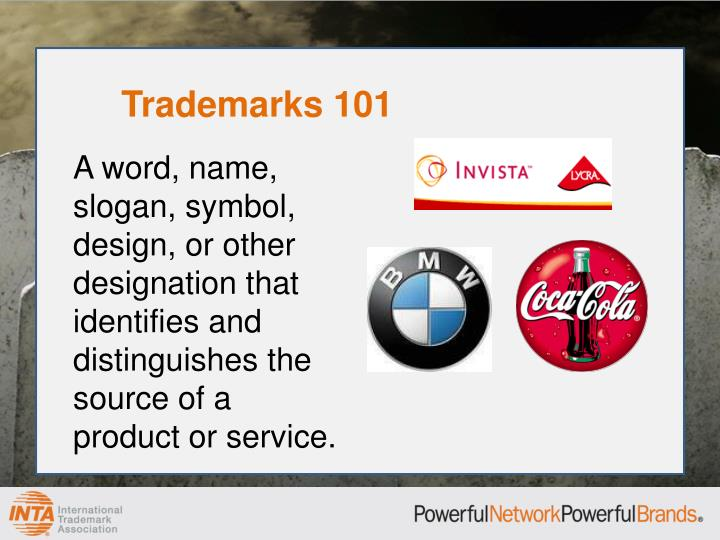 Trademarks 101