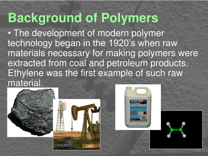 Background of Polymers