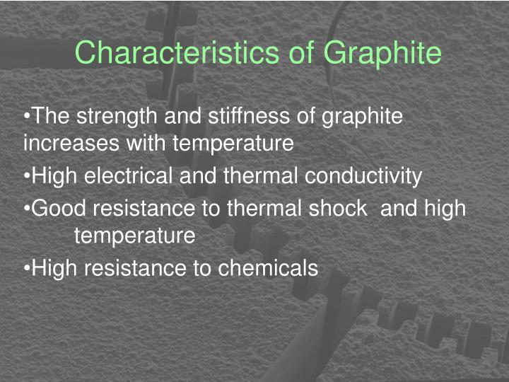 Characteristics of Graphite