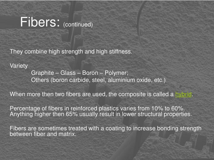 Fibers: