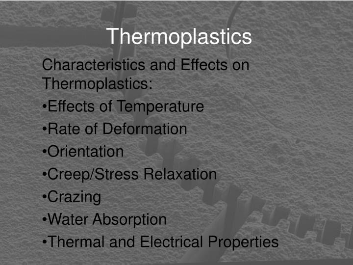 Thermoplastics