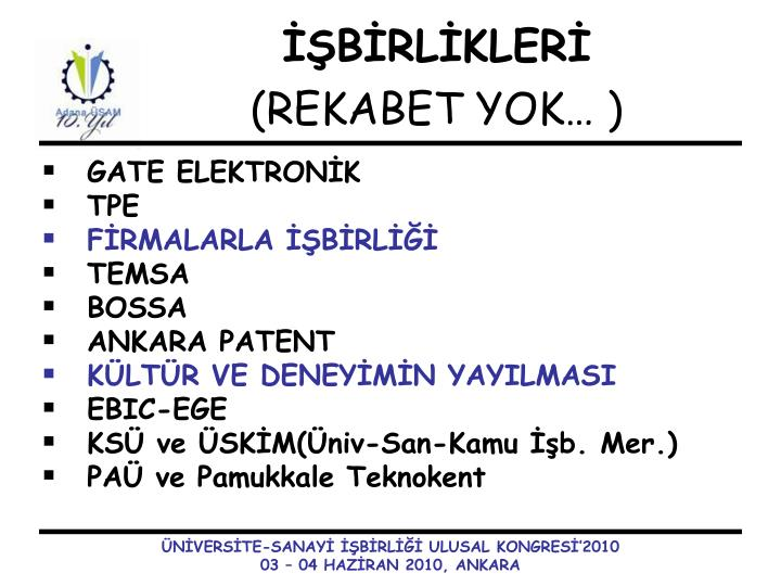 GATE ELEKTRONİK