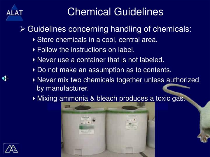 Chemical Guidelines
