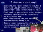 environmental monitoring ii