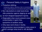 personal safety hygiene