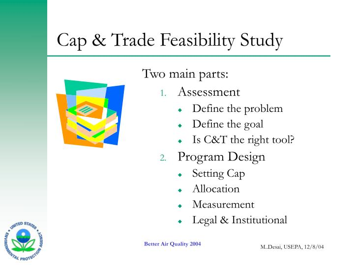 Cap & Trade Feasibility Study