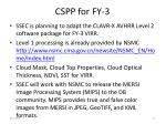 cspp for fy 3