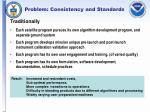 problem consistency and standards