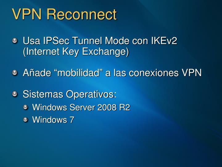 VPN Reconnect