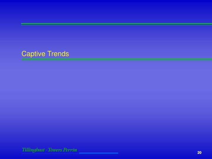 Captive Trends