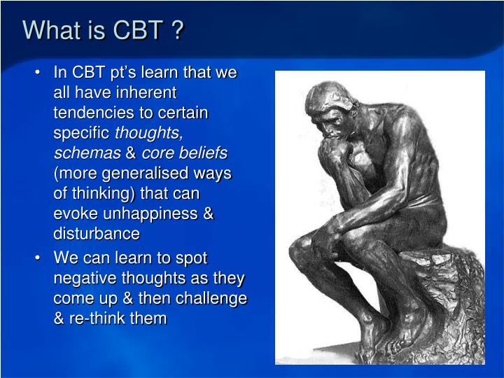 What is CBT ?
