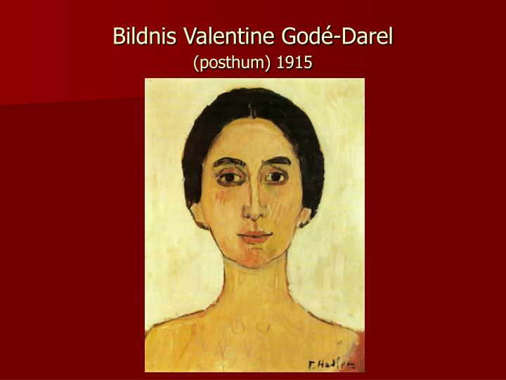 Bildnis Valentine Godé-Darel
