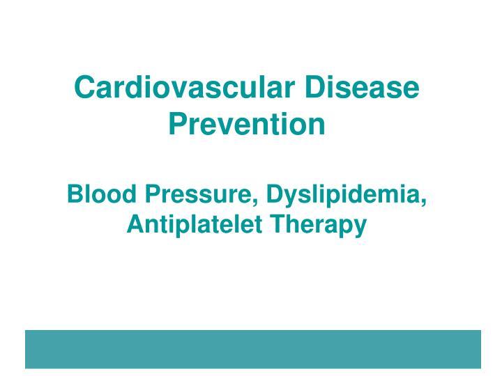 Cardiovascular Disease Prevention
