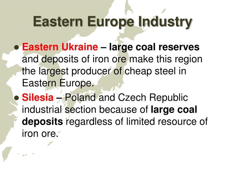 Eastern Europe Industry