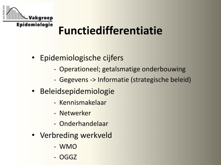 Functiedifferentiatie