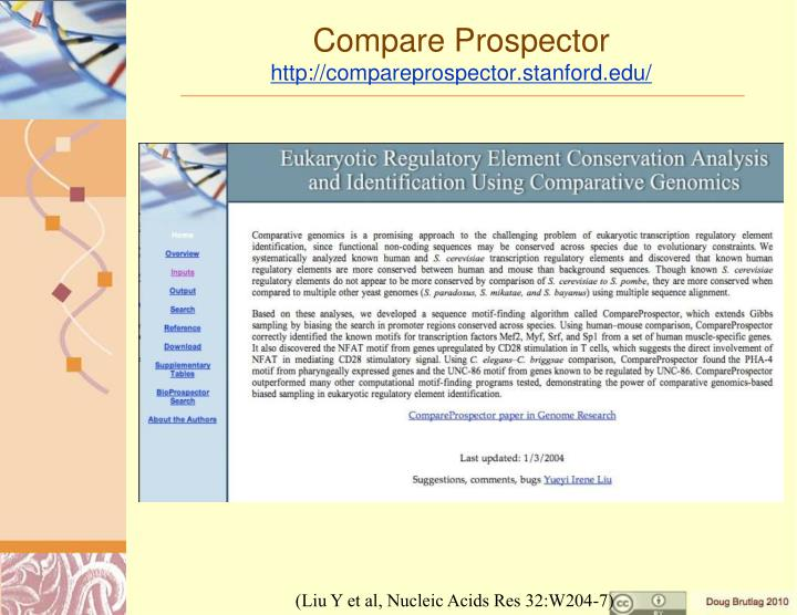 Compare Prospector