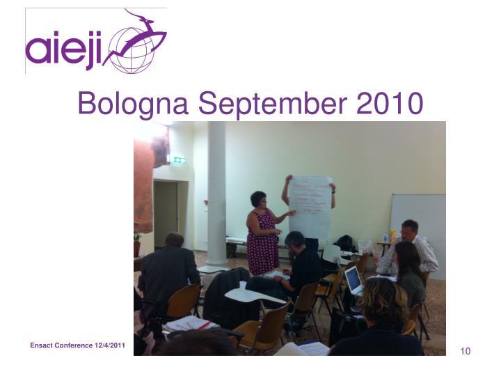 Bologna September 2010
