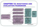 chapter 12 monitoring and evaluation framework