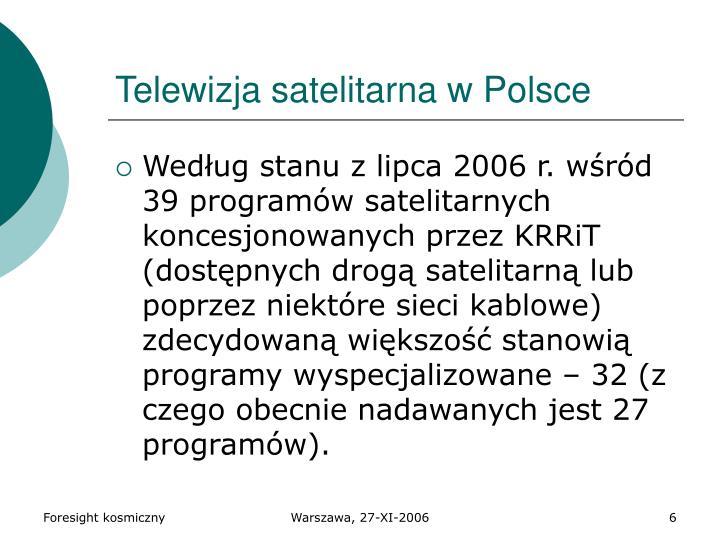 Telewizja satelitarna w Polsce