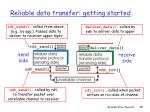 reliable data transfer getting started