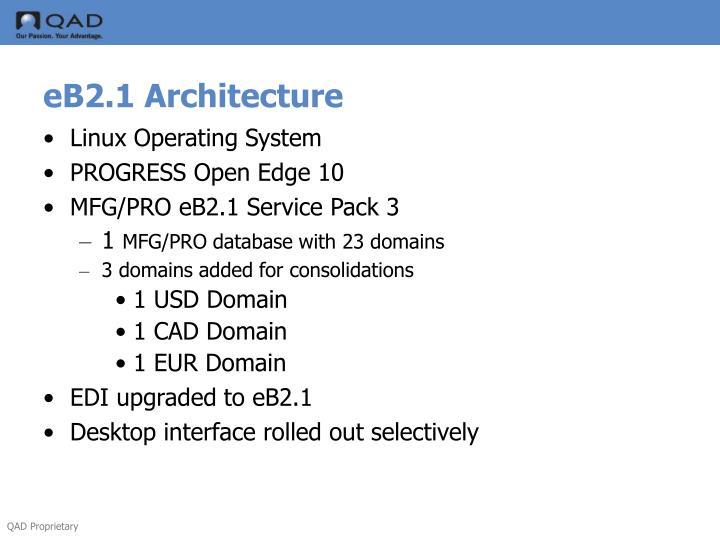 eB2.1 Architecture