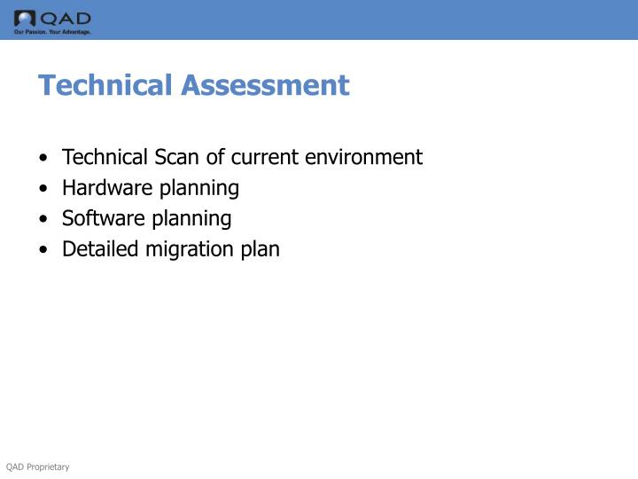 Technical Assessment