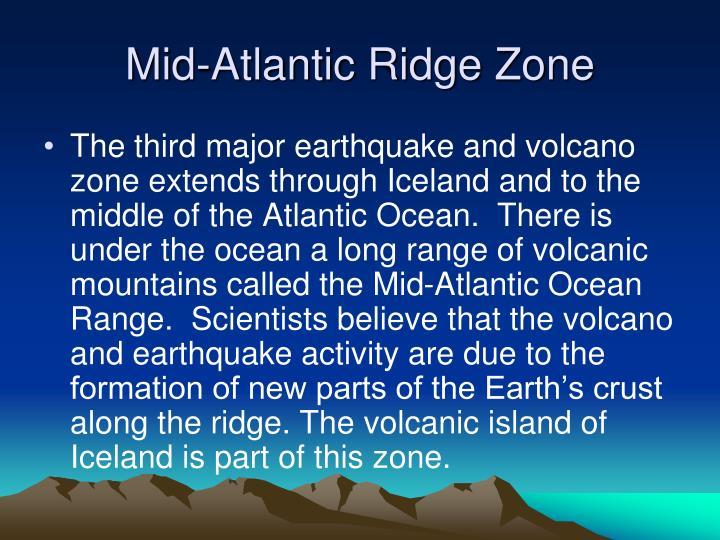 Mid-Atlantic Ridge Zone