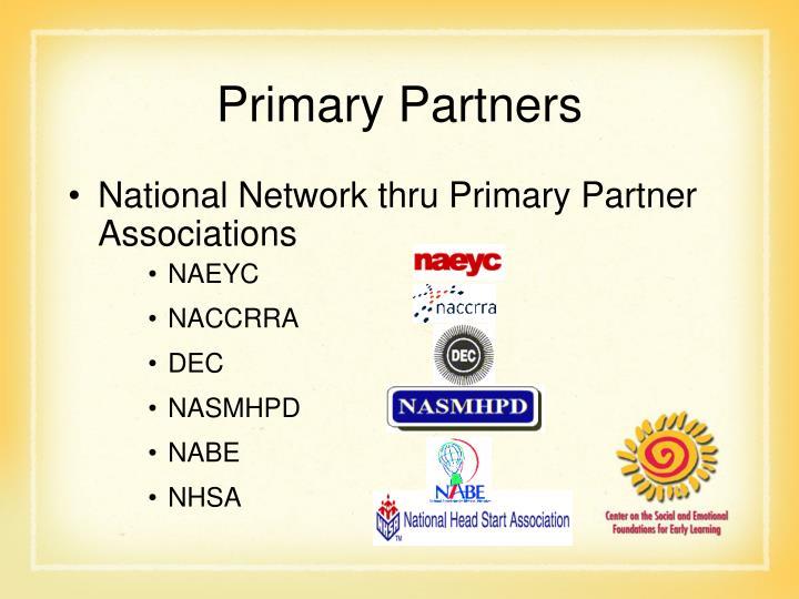 Primary Partners