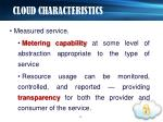 cloud characteristics8