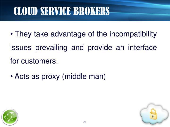 CLOUD SERVICE BROKERS