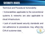 security issues12