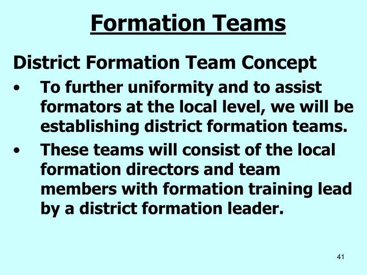 Formation Teams