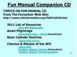 fun manual companion cd1