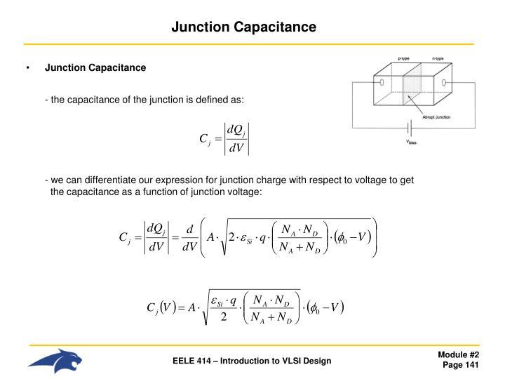 Junction Capacitance