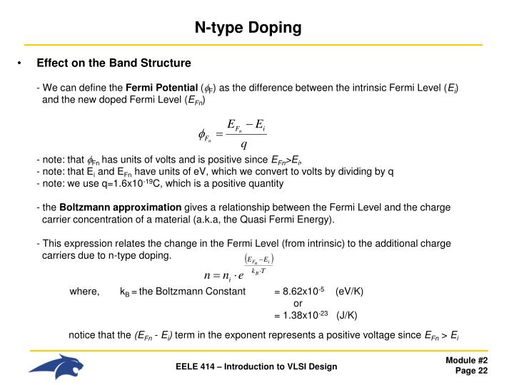 N-type Doping