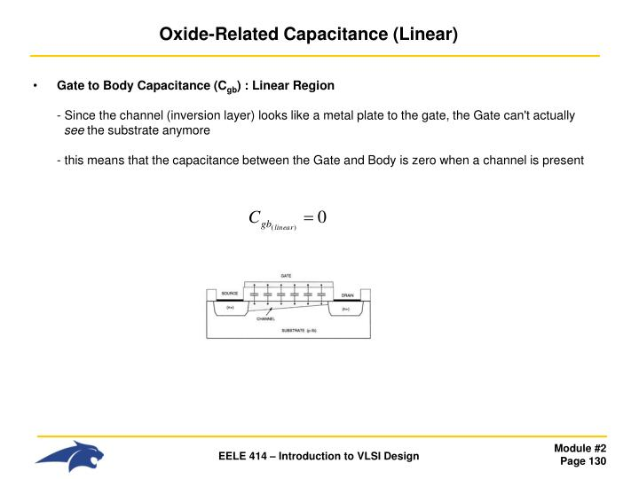 Oxide-Related Capacitance (Linear)